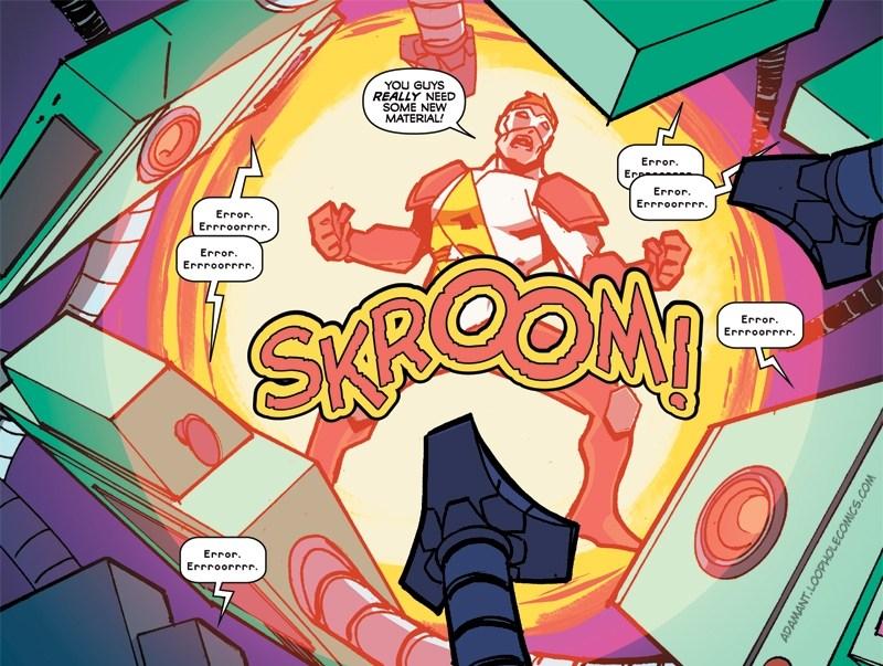 Skroom Goes the Dynamite